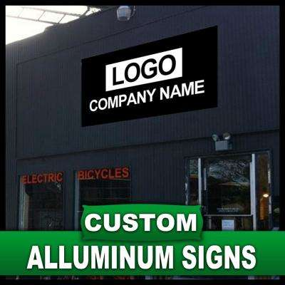 7 in. x 10 in. Custom Aluminum Sign