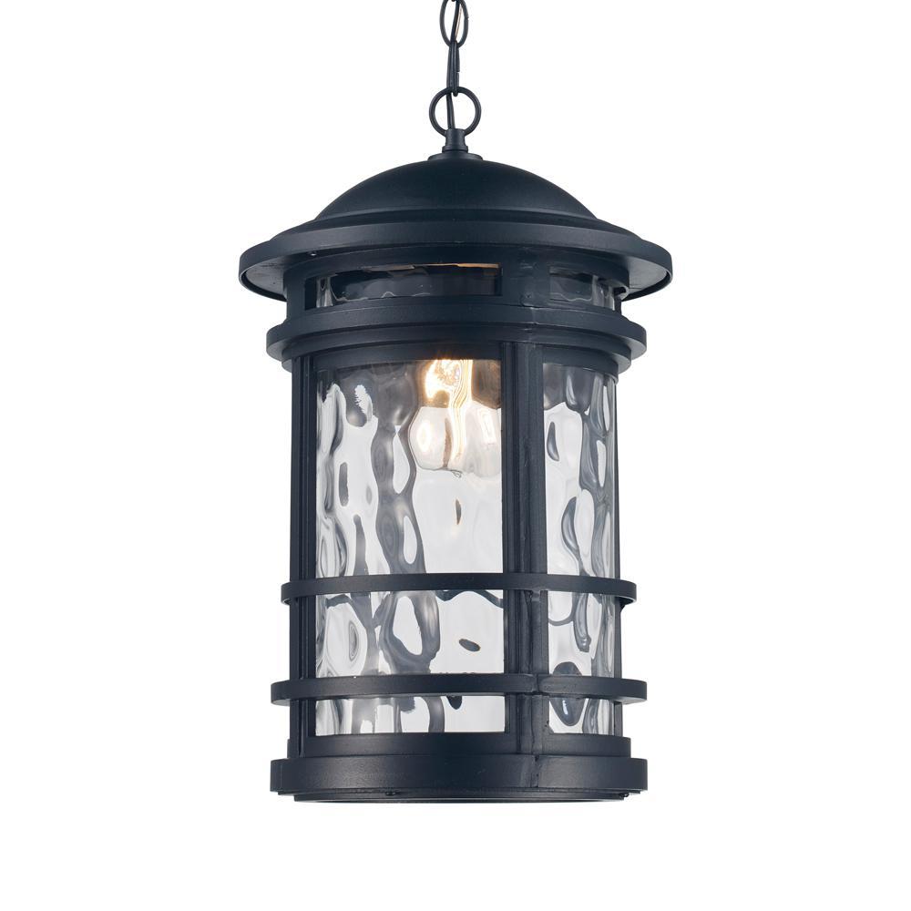 Boardwalk Rust 1-Light Outdoor Hanging Lantern
