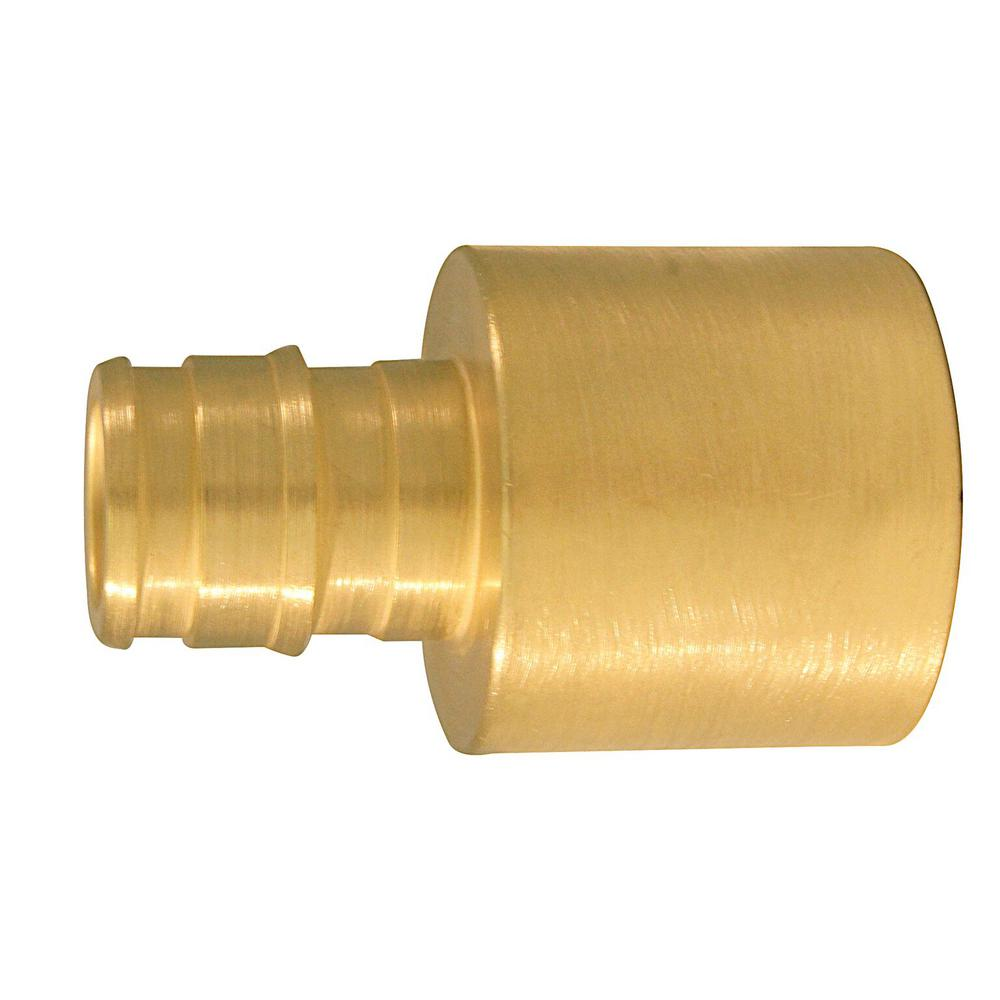 1/2 in. Brass PEX-A Expansion Barb x 3/4 in. Reducing Female