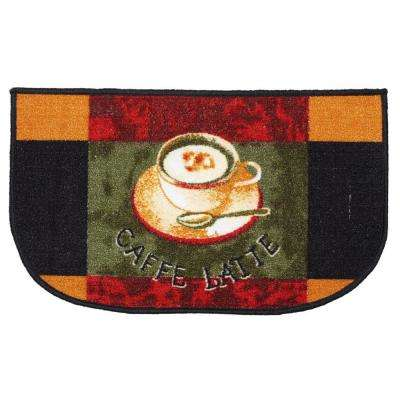 Cafe Latte Multi-Color 18 in. x 30 in. Indoor Mat