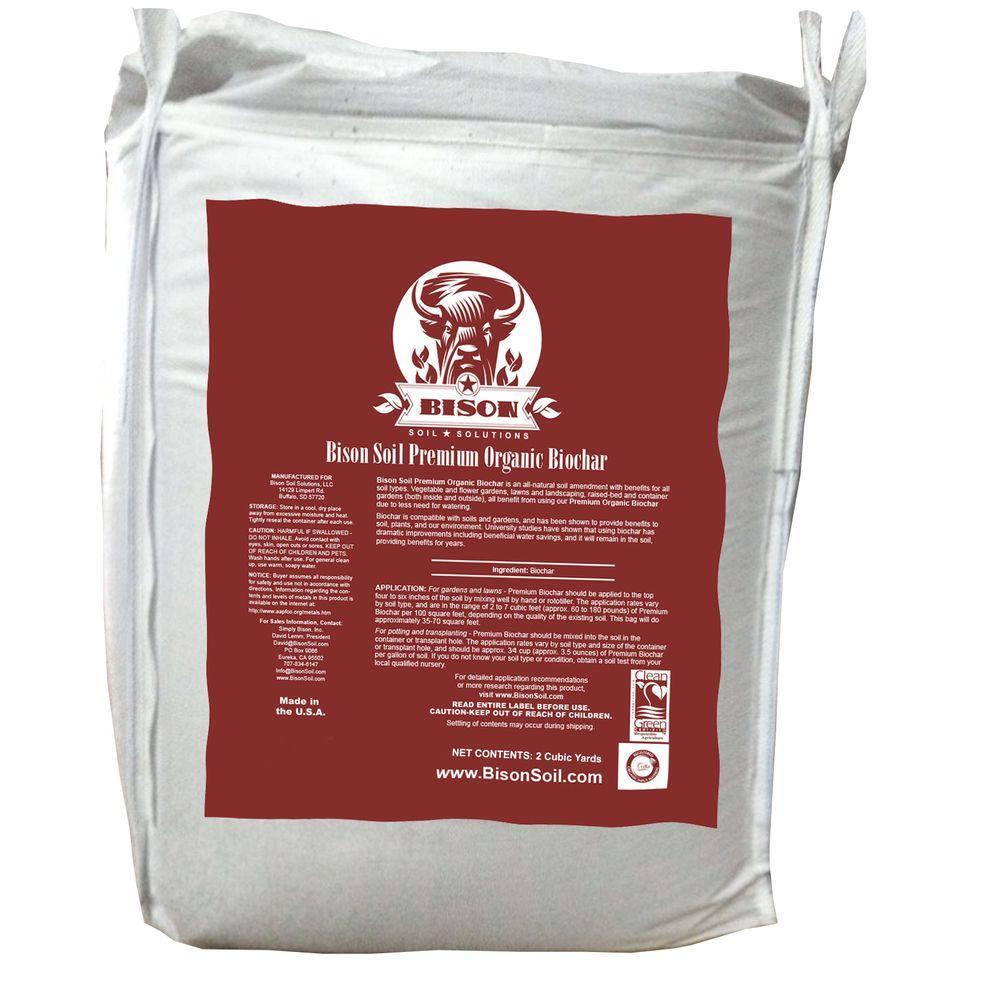 2 cu. yd. Tote Premium Organic Biochar