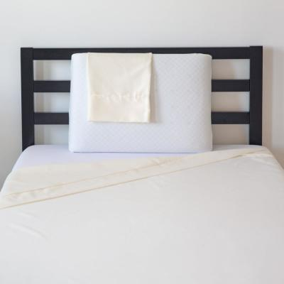 Back 3-Piece Ivory Twin Bed in a Bag Set