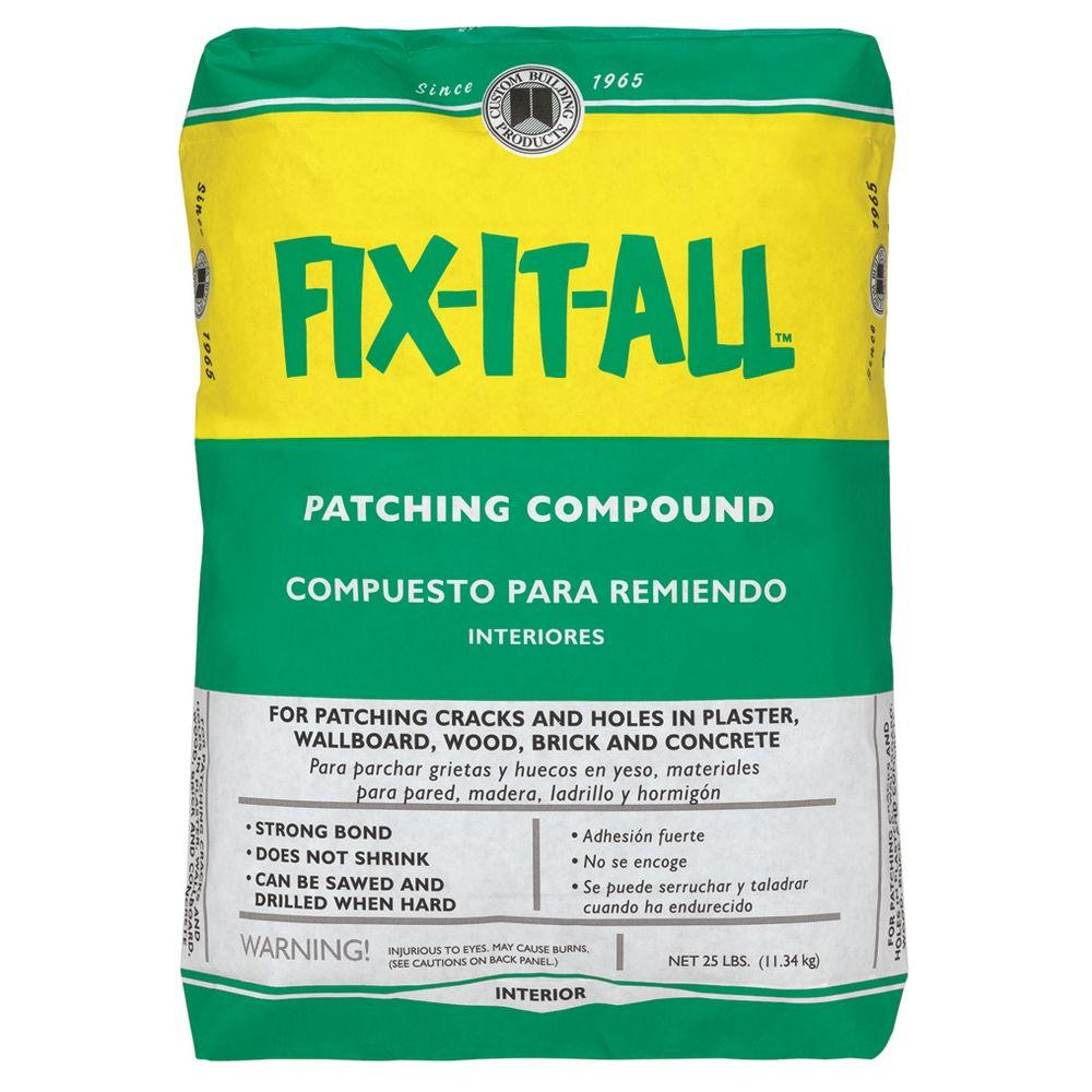 Custom Building Products Fix It All 25 Lb Patching Compound