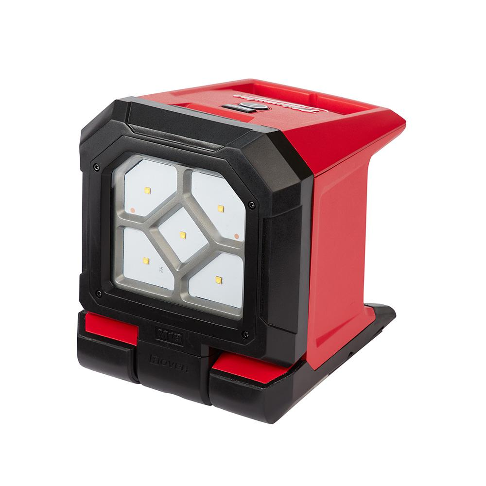 Milwaukee M18 18 Volt Lithium Ion Cordless 1500 Lumen Rover Led Mounting Flood Light Tool Only