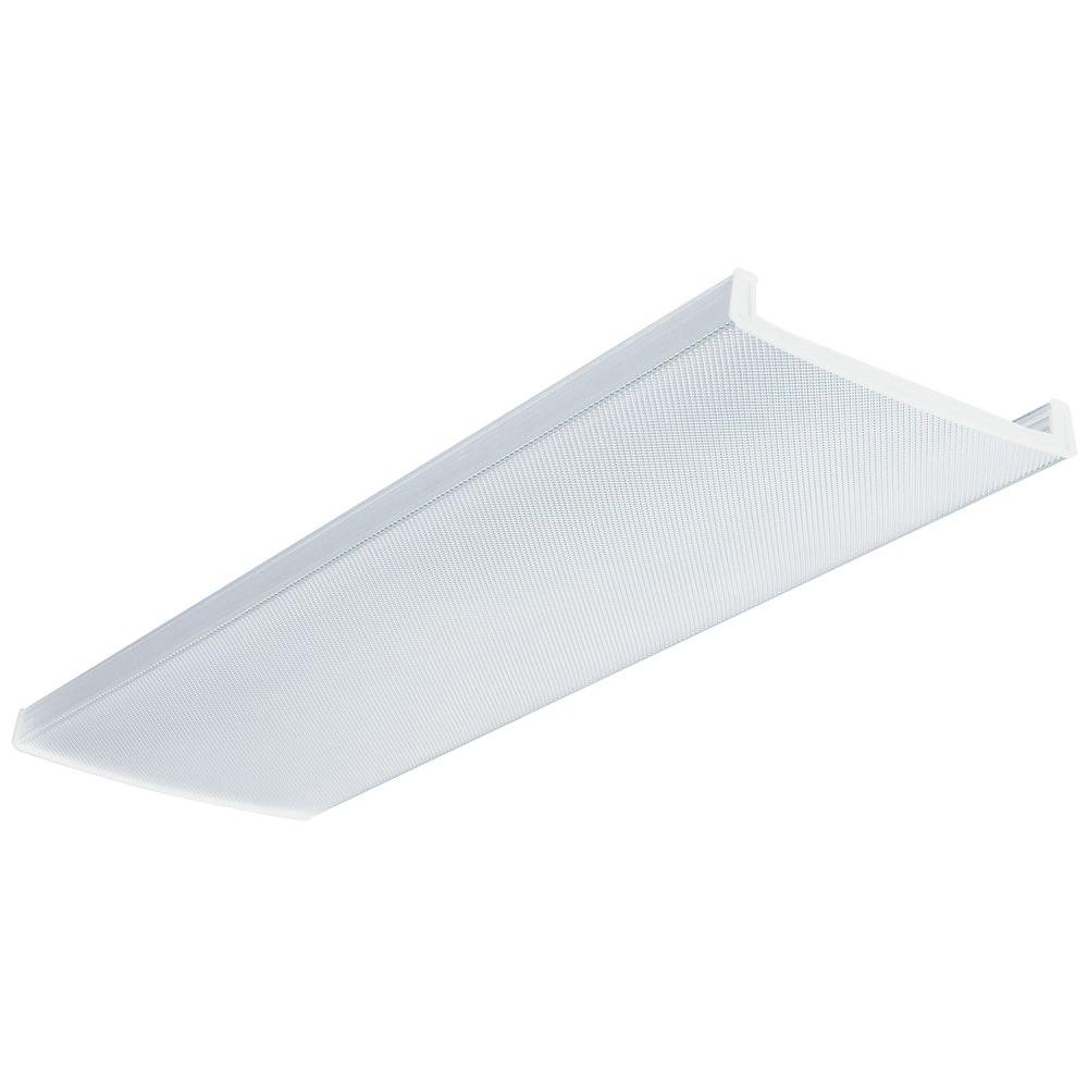 Lithonia Lighting 1 1 2 Ft X 4 Ft Wraparound Clear