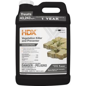 HDX 2.5 Gal. Vegetation Killer and Preventer by HDX