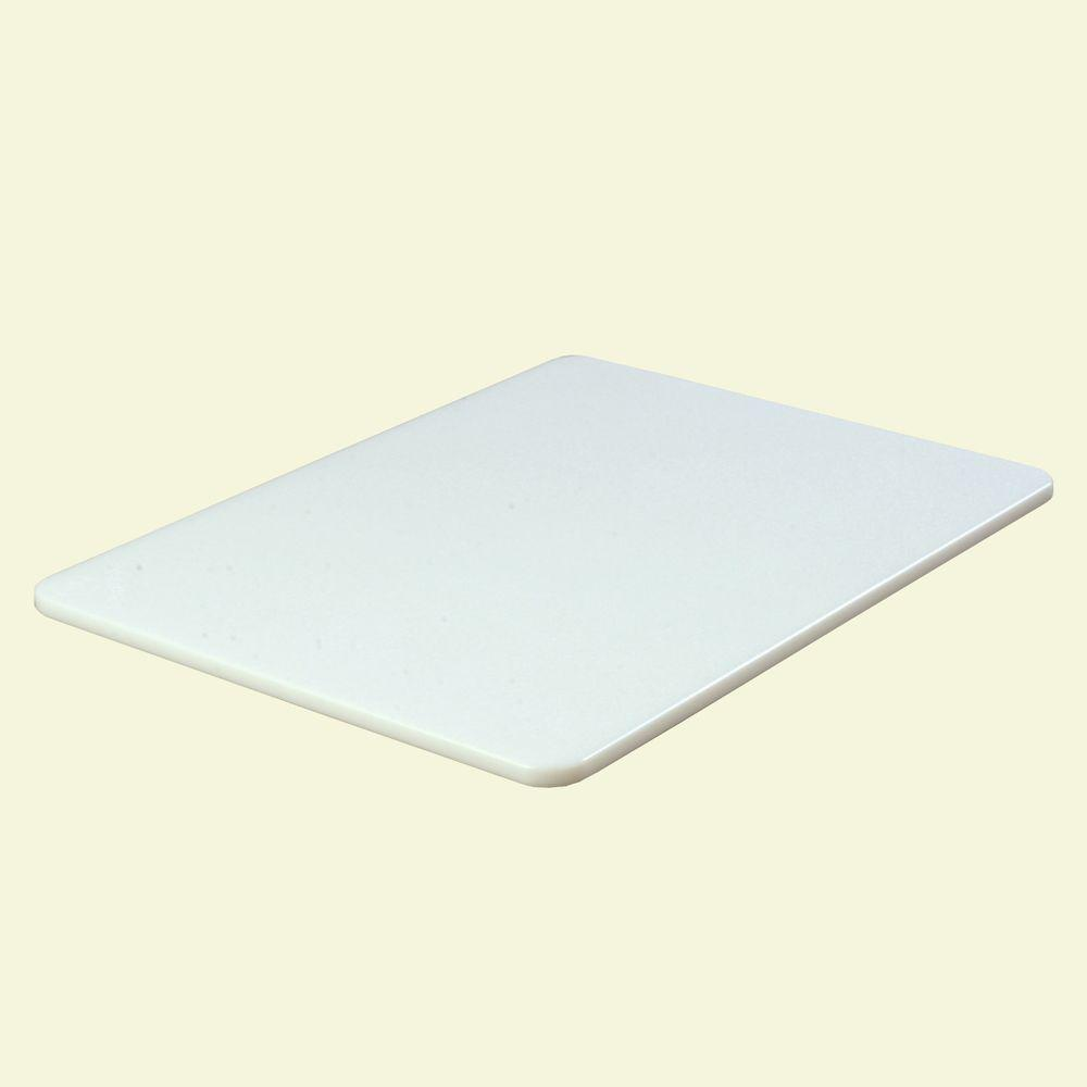 Carlisle 6-Piece Polyethylene Cutting Board Set, White