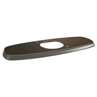 Edgemere 3 in. Metal Escutcheon Plate in Legacy Bronze
