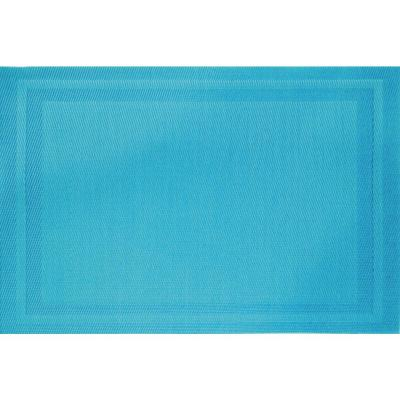 Aqua Basket Weave Placemat (Set of 8)