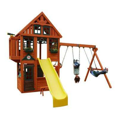 Brockwell Wooden Playset