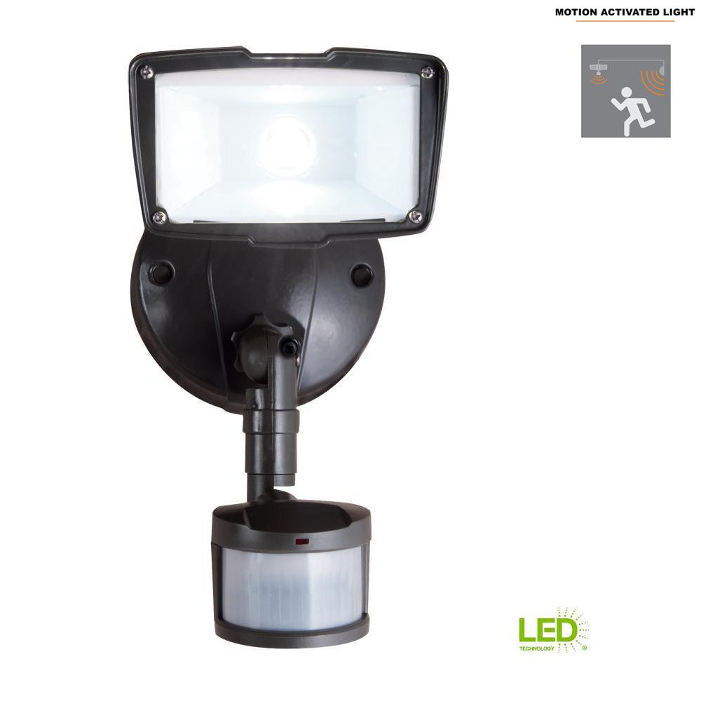 All-Pro 110-Degree Bronze Motion Activated Sensor Outdoor