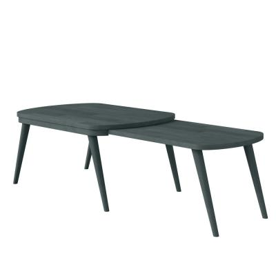 Freemont Gray Modern Nesting Wood Cocktail Table
