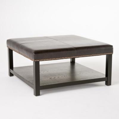 Julia Brown Bench with Rack