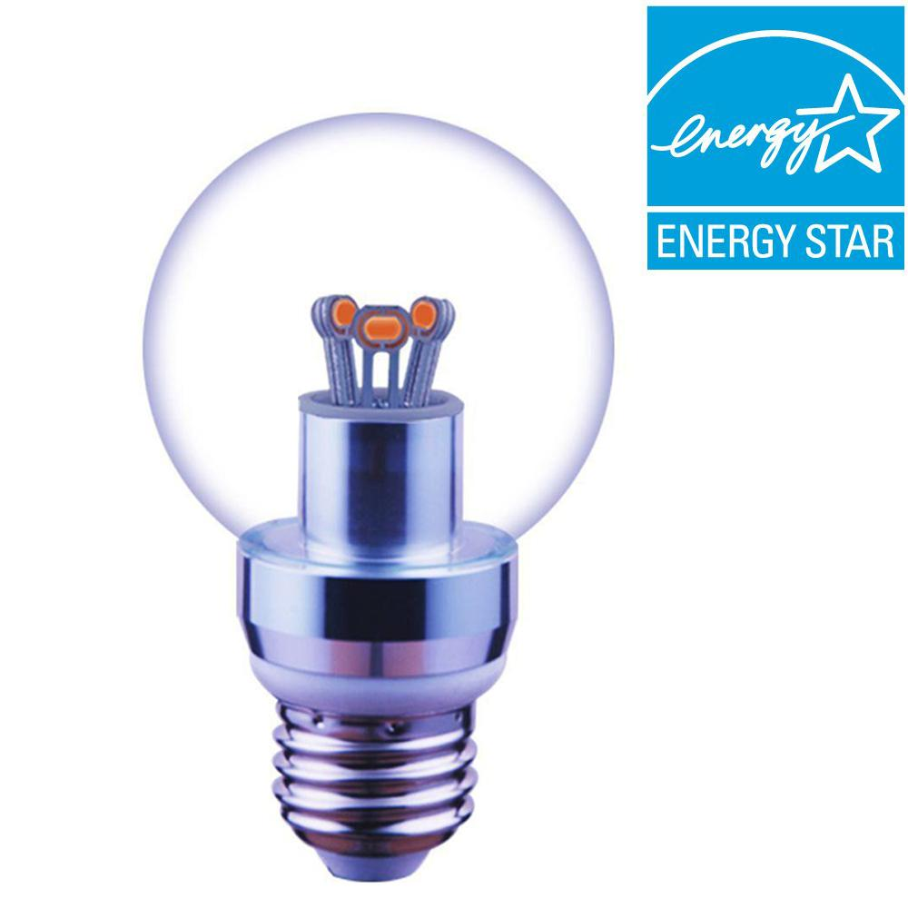 Ge 40w Equivalent Reveal A19 Dimmable Led Light Bulb: Rayleich 40W Equivalent Cool White A19 Dimmable Globe LED