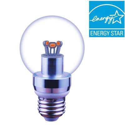 40W Equivalent Cool White A19 Dimmable Globe LED Light Bulb