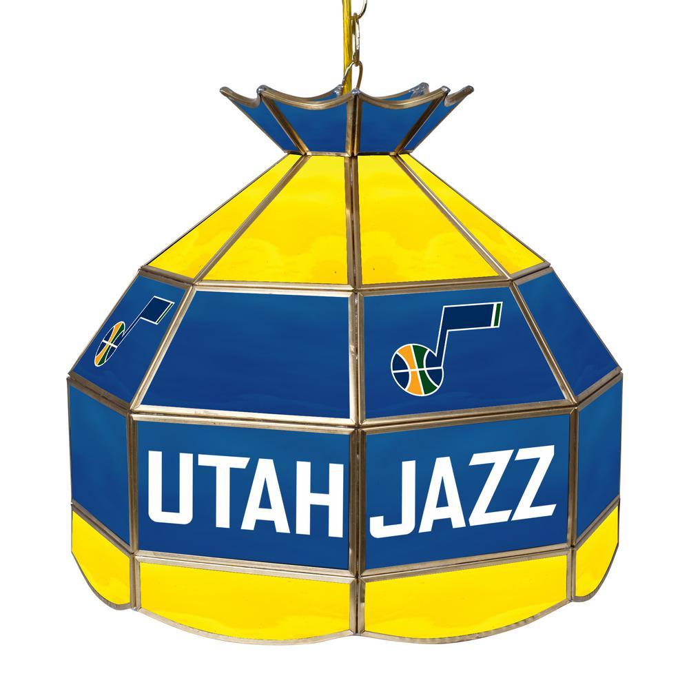 Trademark Global Utah Jazz Nba 16 In Nickel Hanging