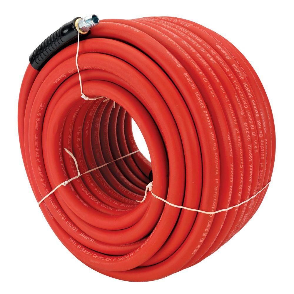Snap-on 3/8 in. x 100 ft. Rubber Air Hose-DISCONTINUED