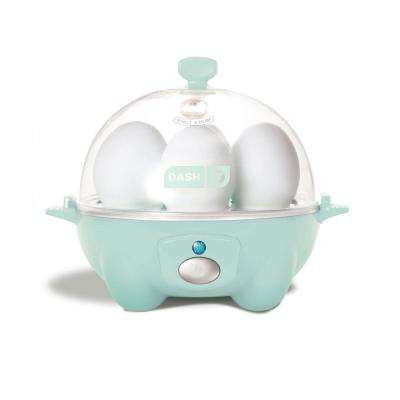 Rapid 6-Egg Cooker in Aqua