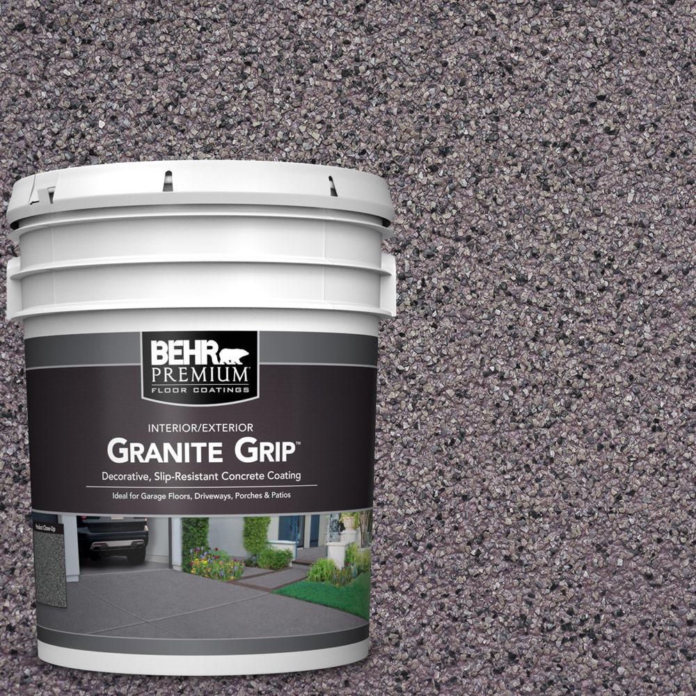 5 gal. #GG-04 Royal Pearl Decorative Flat Interior/Exterior Concrete Floor Coating