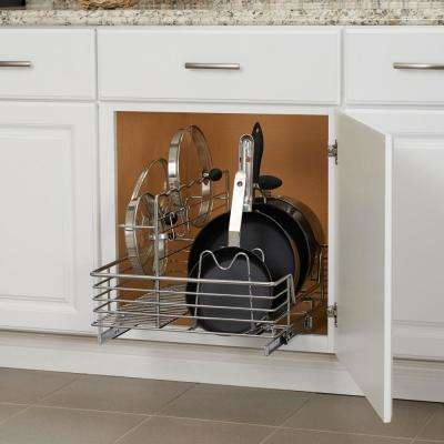 17.5 in. Cookware Organizer in Chrome