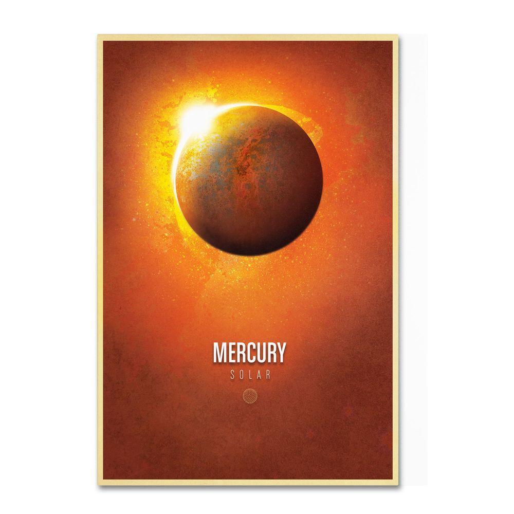 Trademark Fine Art 16 in. x 24 in. Mercury Canvas Art