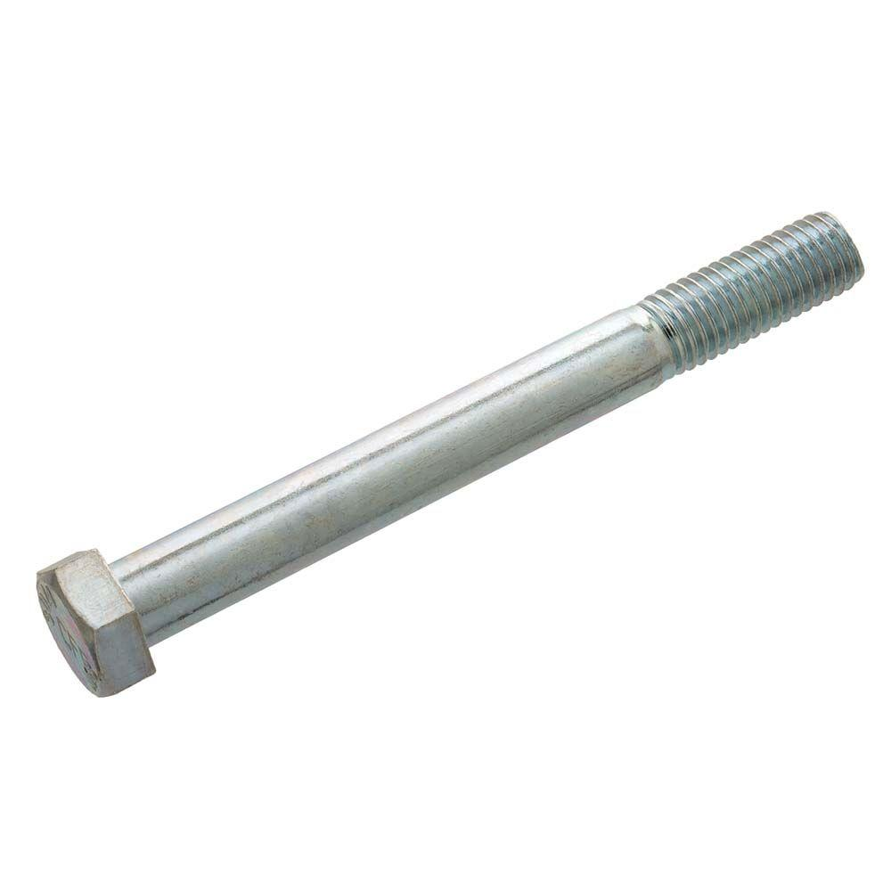 Crown Bolt 1/2 in. - 13 tpi x 5-1/2 in. Zinc-Plated Hex Bolt (25-Pieces)