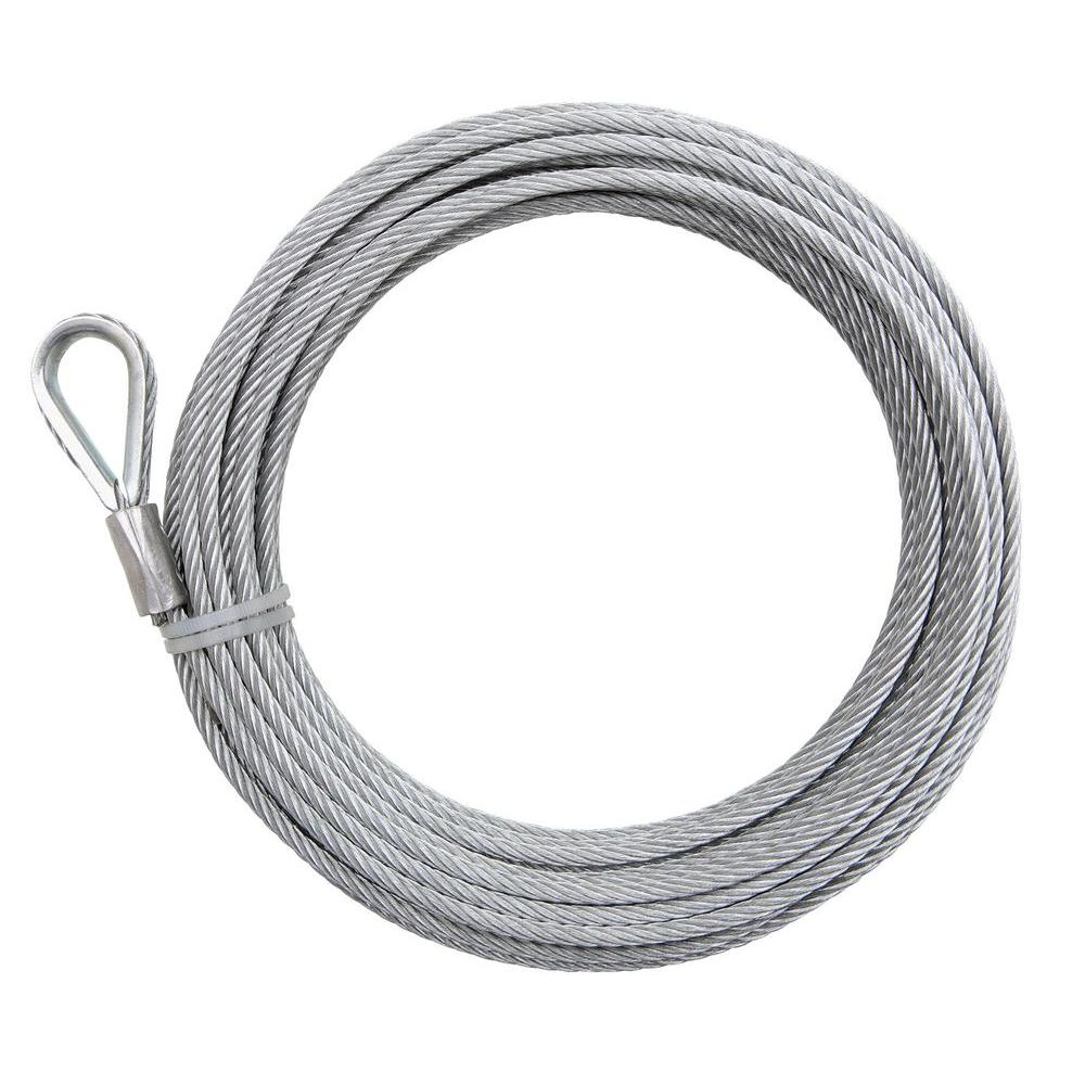 Everbilt 3/16 in. x 50 ft. High Performance Galvanized Uncoated Wire ...