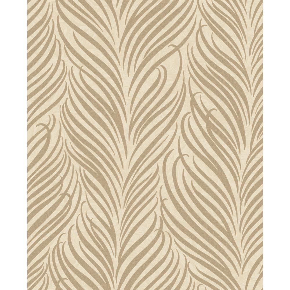 Alfie Wheat Botanical Wallpaper