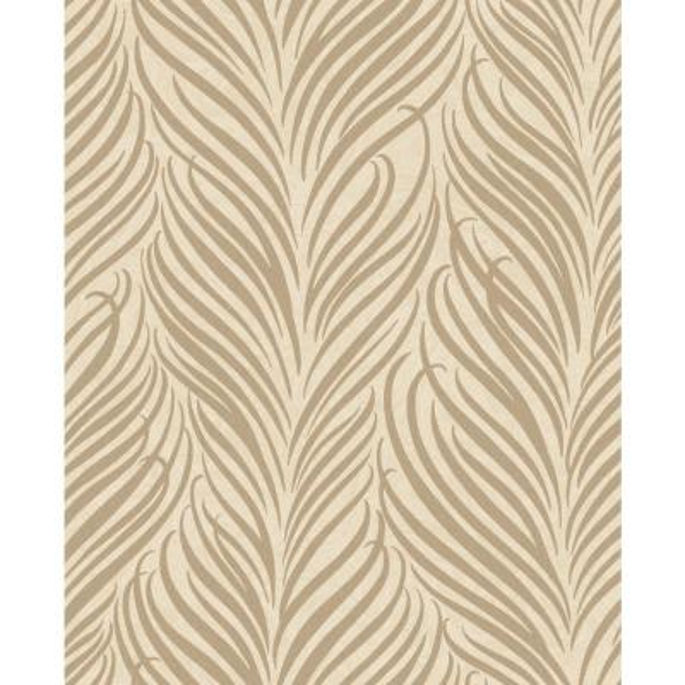 Alfie Wheat Botanical Wallpaper Sample