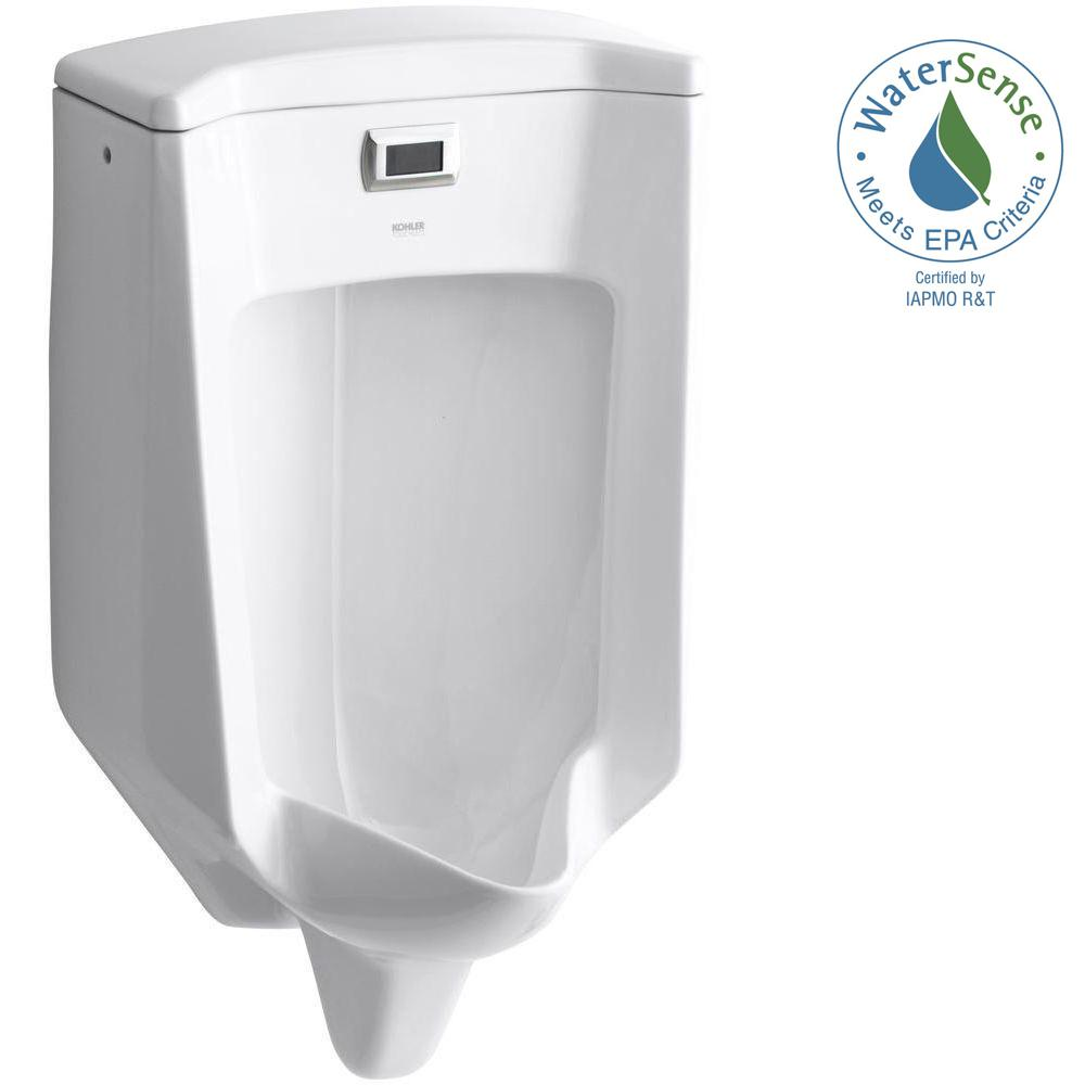 KOHLER Bardon 0.5 GPF Touchless Urinal in White