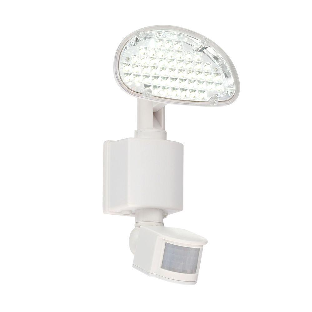 Defiant Solar 48-Light 180-Degree White Motion Activated