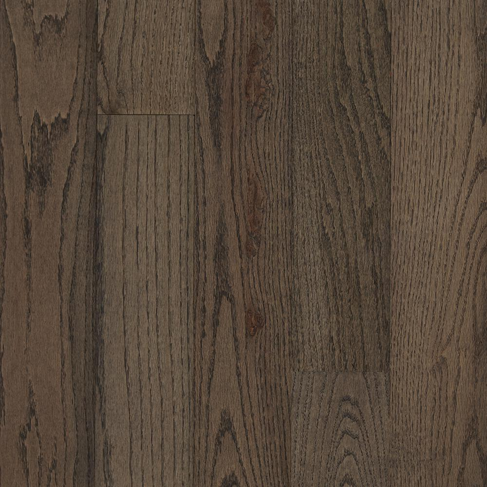 Bruce Plano Oak Gray 3/4 in. Thick x 5 in. Wide x Varying Length Solid Hardwood Flooring (23.5 sq. ft. / case)