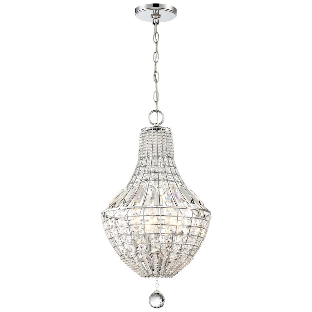 Minka Lavery Braiden 4-Light Chrome Pendant