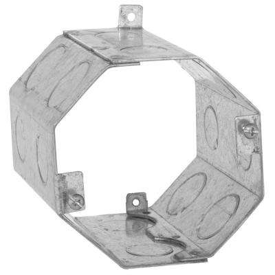 4 in. Octagon Welded Concrete Ring, 4 in. Deep with 1/2 and 3/4 in. Knockouts (20-Pack)
