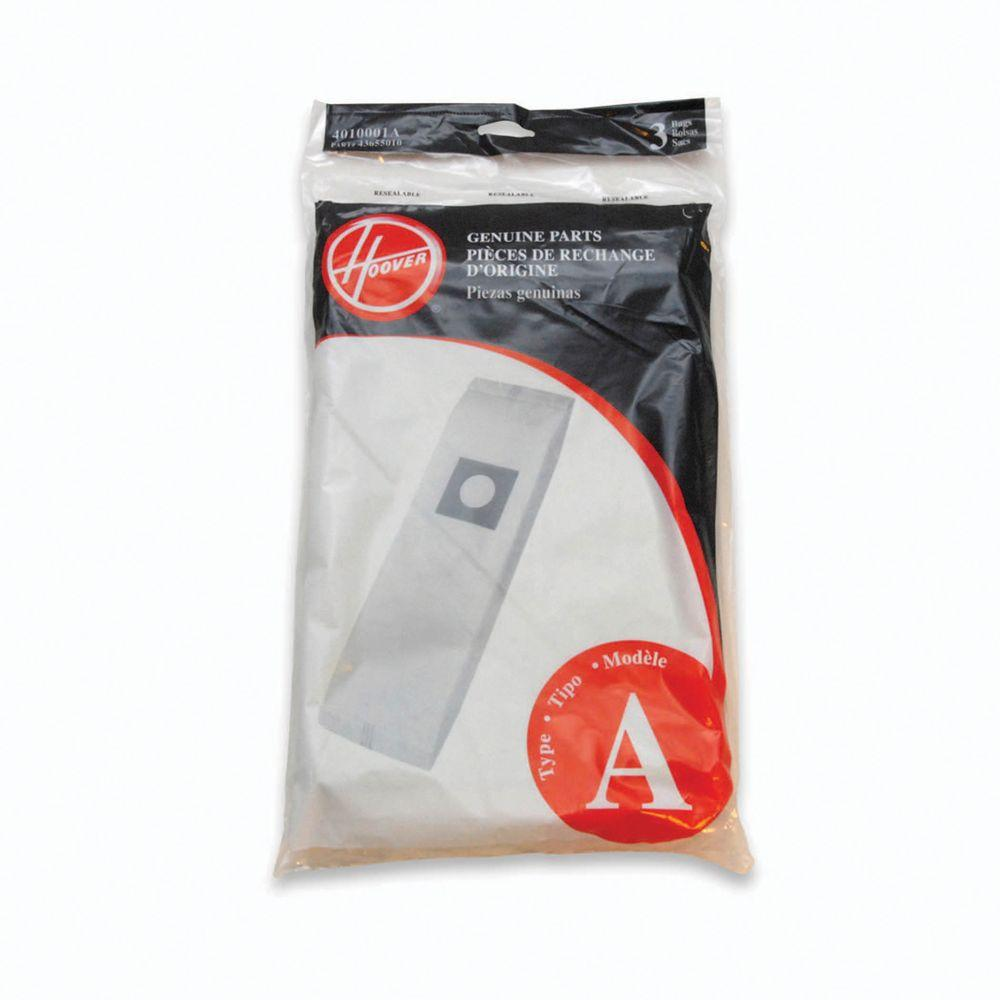Hoover Type A Filtration Bags For Select Hoover Upright Cleaners 3
