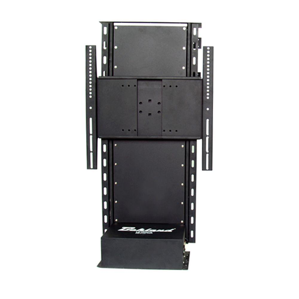 Bekland liftrack series 20 in 52 in flat panel tv free for Motorized flat screen tv lift