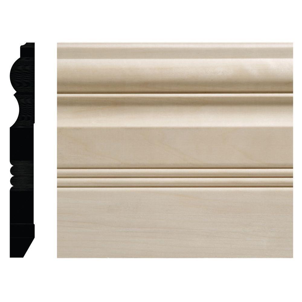 Ornamental Mouldings 3 4 In X 6 1 2 In White Hardwood