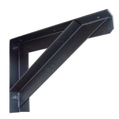 Torrence 21.5 in. x 15.5 in. Flat Black Bench Support