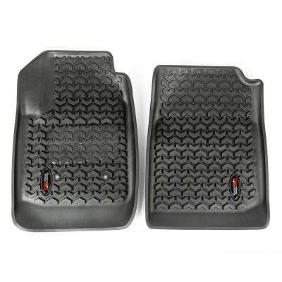 Black Front Floor Liners 2015-2018 Chevy Colorado