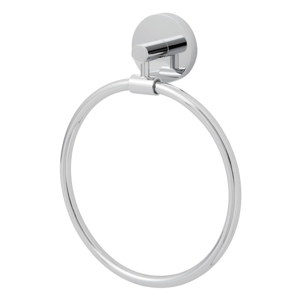 Neo Towel Ring in Polished Chrome