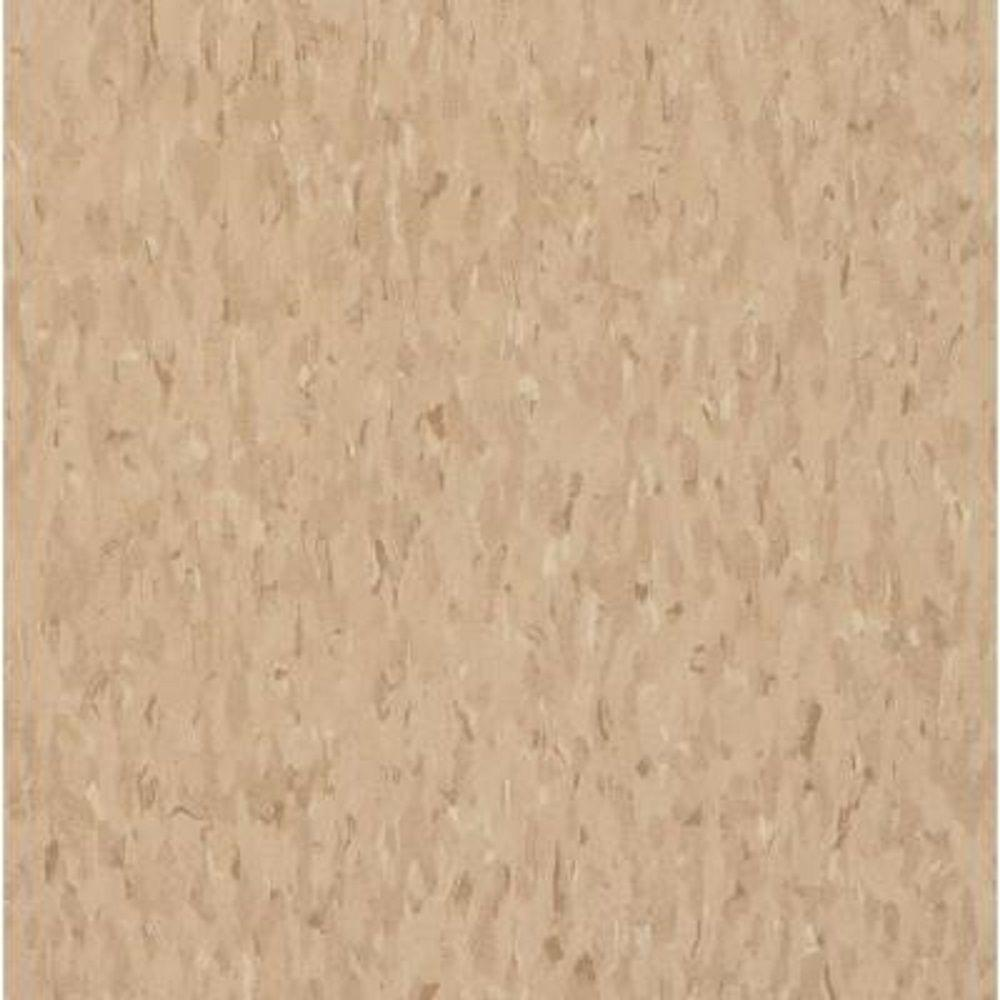 Armstrong Take Home Sample Imperial Texture Vct Nougat Commercial Vinyl Tiles 6 In