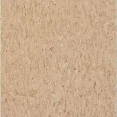 Take Home Sample - Imperial Texture VCT Nougat Commercial Vinyl Tiles - 6 in. x 6 in.