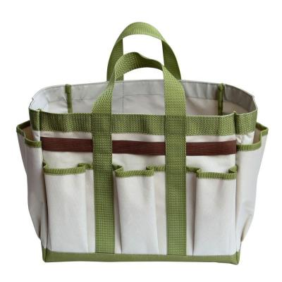 19 in. W 6-Pockets Garden Hand Tools Bag