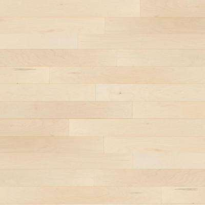 Light Maple Brown Solid Hardwood Wood Flooring