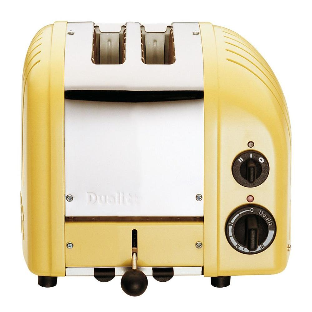Dualit New Gen 2-Slice Canary Yellow Toaster