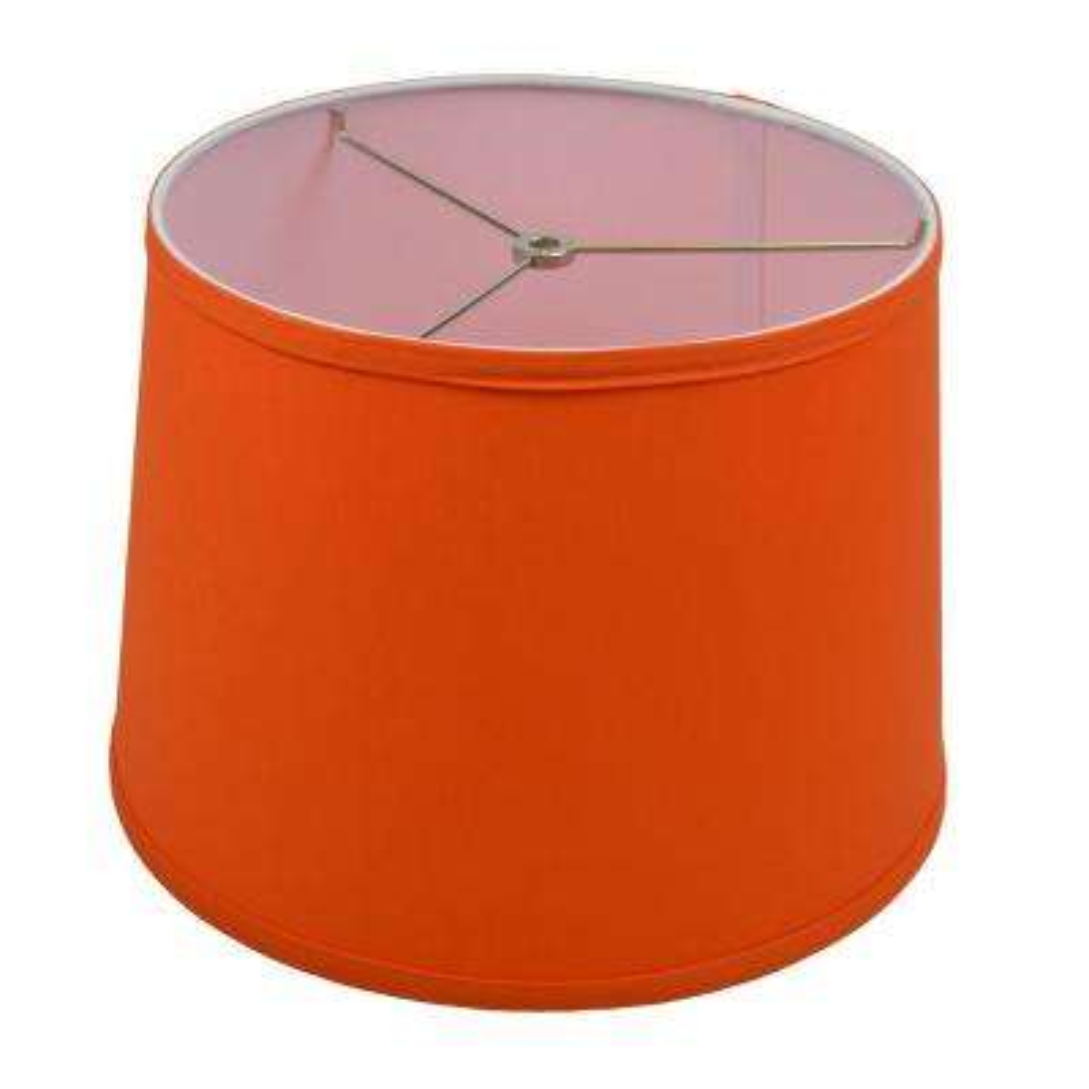 12 in. Top Diameter x 14 in. Bottom Diameter x 10 in. Linen Carrot Slant Empire Lamp Shade