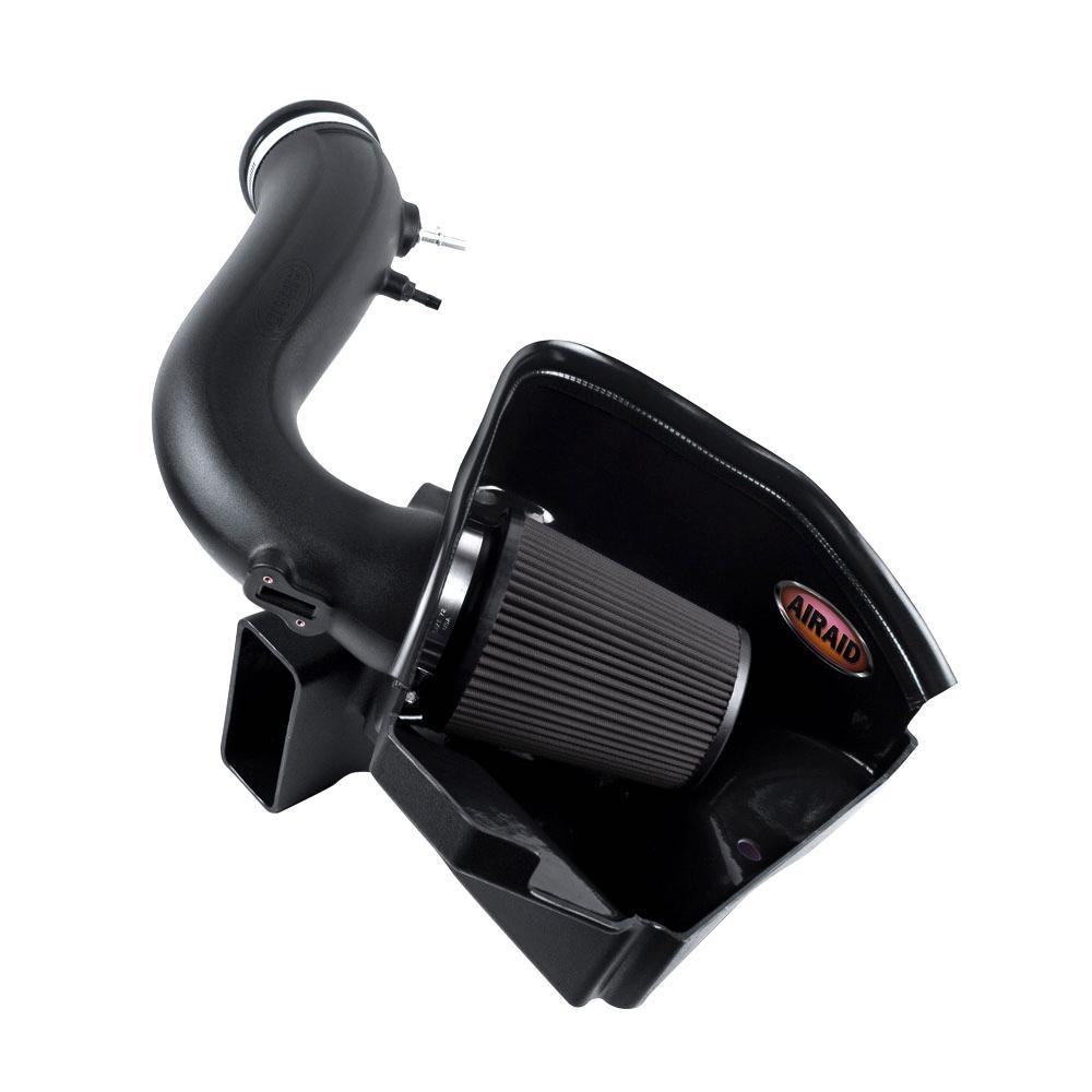 11-14 Ford Mustang 3.7L V6 MXP Intake System w/ Tube (Dry / Black Media)
