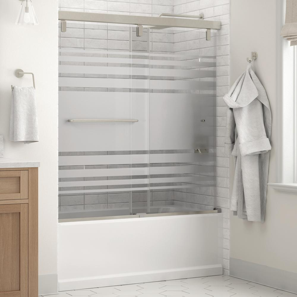 Delta Portman 60 X 59 1 4 In Frameless Mod Soft Close