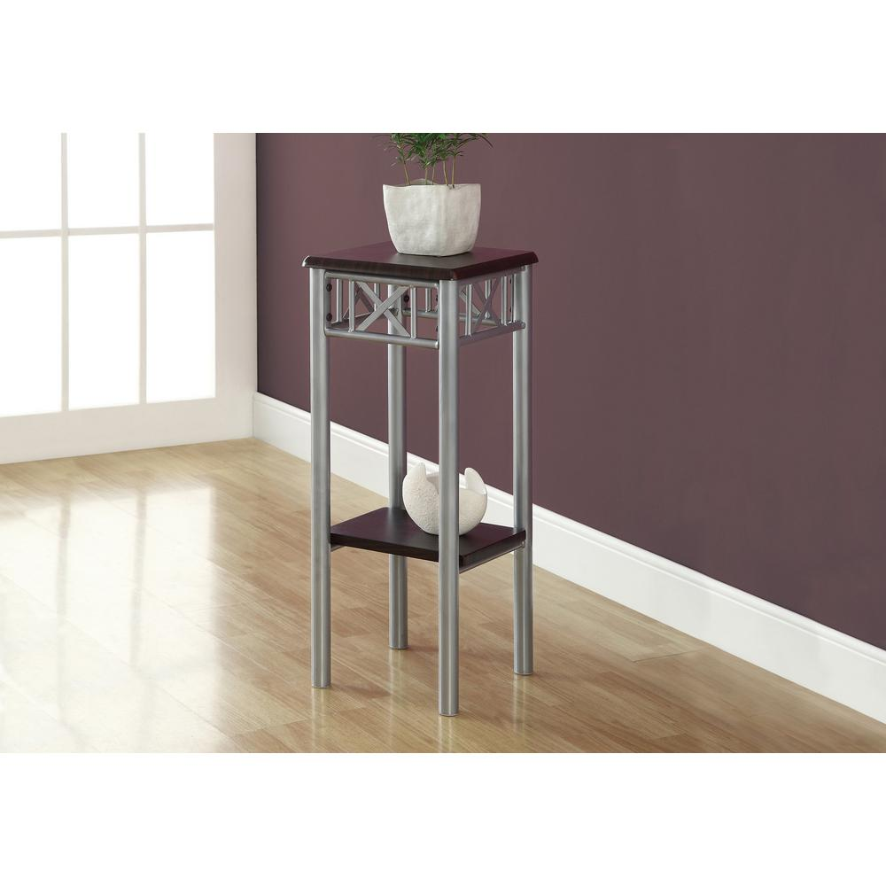 bfde0f35b723 Monarch Specialties Black Indoor Plant Stand I 3078 - The Home Depot