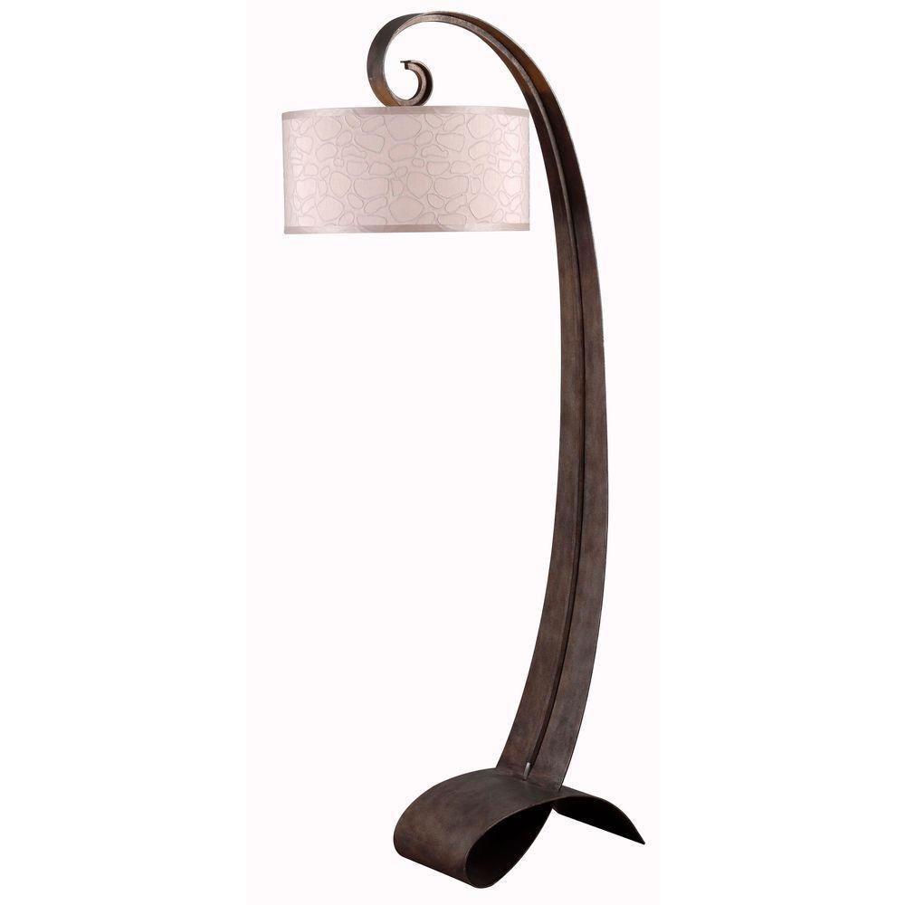 Remy 64 in. Smoked Bronze Floor Lamp
